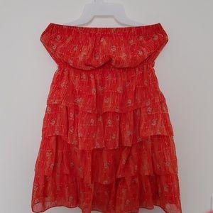 Half top dress
